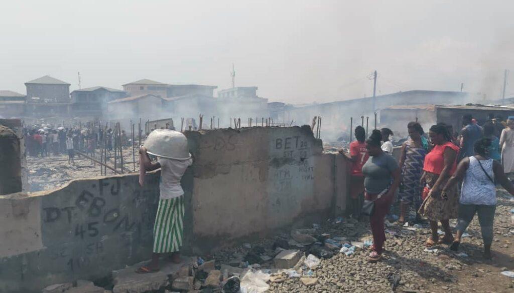 Kantamanto Fire outbreak